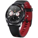 HUAWEI Honor Watch Magic Smart Sports Watch 1.2-inch Round Screen / Real-time Heart-rate Monitoring – Black / Silicone Strap