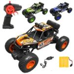 8211A+ 2.4G 1:20 Remote Racing Car RC Electric Monster Truck Off-Road Vehicle  – Yellow