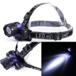 LEO Night Fishing Headlight Water Resistant Cycling Flashlight LED Head Light Torch for Outdoor Camping Hiking