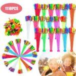 Magic Colorful Water Balloons Bunch Balloons – 1110Pcs/Set