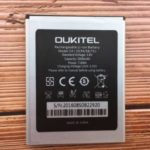 3.8V 2000mAh Li-ion Battery for Oukitel C4