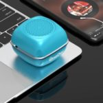 V16 Wireless Bluetooth Hands-free Speaker Support TWS TF Card FM Radio – Blue