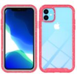Shockproof Drop-proof Dust-proof Polycarbonate + TPU Hybrid Case for iPhone (2019) 6.1-inch – Red
