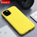 IPAKY Matte Wheat Straw TPU Protection Phone Case for iPhone (2019) 5.8-inch – Yellow