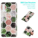 Marble Pattern IMD TPU Back Case for Samsung Galaxy A50 – Style A