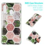 Marble Pattern IMD TPU Back Case for Samsung Galaxy A20e – Style A