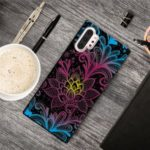 Pattern Printing TPU Cell Phone Case for Samsung Galaxy Note 10 Pro – Flowers Pattern