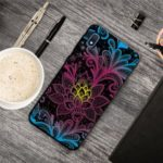 Pattern Printing TPU Case Shell for Samsung Galaxy A10 – Flowers Pattern