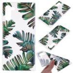 Pattern Printing TPU Case for Samsung Galaxy Note 10 – Leaves