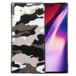 Camouflage Pattern TPU Shell Case for Samsung Galaxy Note 10 – White