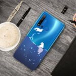 Pattern Printing TPU Soft Case for Huawei P20 lite (2019) / nova 5i – Polar Bear