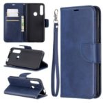 PU Leather Wallet Stand Phone Cover for Huawei P Smart Z / Y9 Prime 2019 – Blue