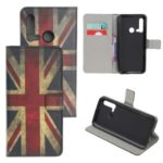 Pattern Printing Leather Wallet Case for Huawei P20 lite (2019) / nova 5i – Retro UK Flag