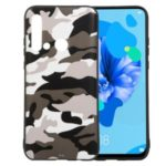 Camouflage Pattern TPU Phone Case for Huawei P20 lite (2019) / nova 5i – White