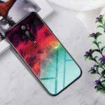 Gradient Color Tempered Glass + PC + TPU Hybrid Phone Shell for Xiaomi Redmi K20/Mi 9T/K20 Pro/Mi 9T Pro  – Colorful Nebula