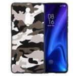 Camouflage Style TPU Cell Cover for Xiaomi Redmi K20 / Mi 9T / K20 Pro / Mi 9T Pro – White