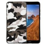 Camouflage Pattern TPU Case for Xiaomi Redmi 7A – White