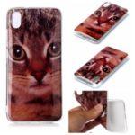 Pattern Printing IMD TPU Case for Xiaomi Redmi 7A – Cat
