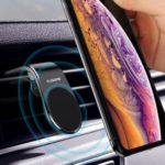 FLOVEME Universal Magnetic Car Mount Cradle Air Vent Holder for iPhone Samsung