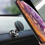 FLOVEME Universal Car Panel Dashboard Magnetic Phone Mount Holder for iPhone Samsung