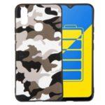 Camouflage Pattern TPU Case for vivo Y3 2019/Y12 2019/Y15 2019/Y17 2019 – White