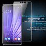 2Pcs/Set IMAK Hydrogel Film 3 HD Clear Anti-explosion Full Screen Protection Film for HTC U19e