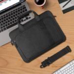 WIWU Bussiness Style Decompression Waterproof Handbag Laptop Bag for 15.6-inch Notebooks Laptops Macbook – Black
