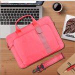 WIWU Bussiness Style Decompression Handbag Splash-proof Laptop Bag for 14-inch Notebooks Laptops Macbook – Red