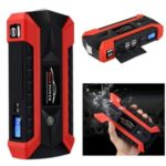 JX29 20000mAh Jump Starter Car Battery Emergency Charger USB Power Bank Kit – Red/US Plug