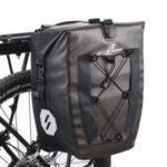 SZ-AS-002 Waterproof Bicycle Shelf Bag Bicycle Rear Storage Bag Bicycle Riding Equipment – Khaki