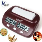 LEAP PQ9907S Chess Clock Digital Count Up Down Electronic Game Timer Professional Chess Player Set  Handheld Master