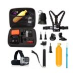 10 in 1 1Set Outdoor Sports Strap Accessories Kit for GoPro Hero 5 4 Session 3+ 3 YI Action Camera