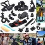 49-in-1 Accessories Kit for GoPro Hero5 Black Hero5 Session Accessory Bundle Set for Xiaomi Skiing Cycle Sport Accessories