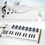 25-Key USB MIDI Drum Pad Ultra-Portable Mini Professional Keyboard Controller