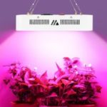 100-LED 300W Full Spectrum 2 Cooling Fans LED Plants Grow Light – EU Plug