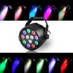 12-LED 20W LED RGBW DMX 512 Stage Light Dream Color Light for Club DJ Show Home Party