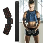 Arm Muscle Trainer Belt Rechargeable Fitness Toner Leg Waist Exercise Health Arm Fitness