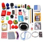Magic Trick Set Magic Prop Kit Kids Christmas Gift for Children 4 Years Old and Above – 40Pcs/Set