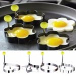 Stainless Steel BBQ Fried Egg Shaper Pancake Mould Mold Kitchen Cooking Tools  – Star