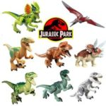 8pcs Jurassic Park Dinosaur Play Toy Animal Action Figures Style 1
