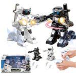 2 Pcs/Pack Remote Control Smart 2.4 G Toy Parent-Child Fighting Robot (777-615S)