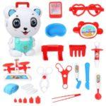Suitcase Backpack Medical Utensils Tableware Engineering Makeup Children Toy – Panda