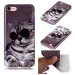 Animal Pattern Printing IMD Flexi TPU Case for iPhone 8/7 4.7 inch – Cat