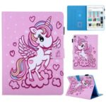 Pattern Printing PU Leather + TPU Stand Tablet Case for iPad 9.7-inch (2017) (2018)/Air 2/Air (2013) – Angel Unicorn