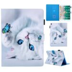 Pattern Printing PU Leather + TPU Stand Tablet Cover for iPad Air 10.5 inch (2019)/Air 3/Air 2/Air (2013) – Cat