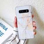 Marble Pattern IMD TPU Case for iPhone XS Max 6.5 inch – Brown
