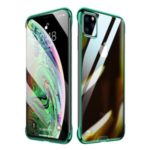 SULADA Electroplating Clear PC Phone Cover for iPhone 11 Pro Max 6.5 inch – Green