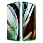 SULADA Electroplating Clear PC Back Case for iPhone 11 Pro 5.8 inch (2019) – Green