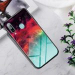 Gradient Color Tempered Glass + PC + TPU Hybrid Case for Samsung Galaxy A60 / M40 – Colorful Nebula