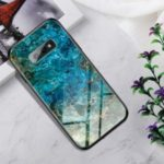 Gradient Color Tempered Glass + PC + TPU Hybrid Case for Samsung Galaxy S10e –  Emerald